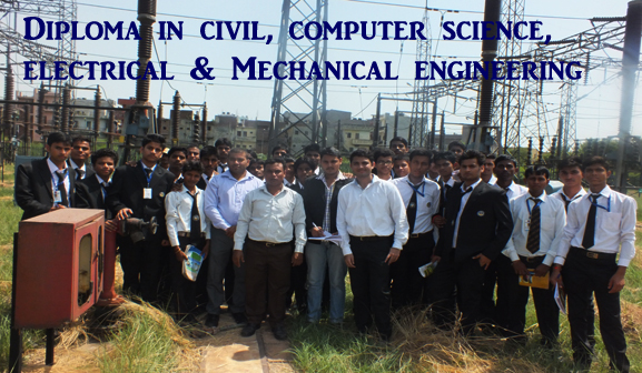 Diploma in Civil,Computer Science, Electrical & Mechanical Engineering